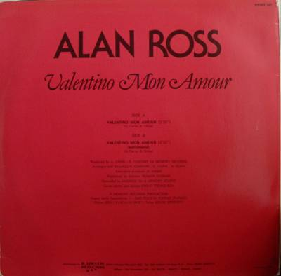 Alan ross valentino mon amour интернет магазин луи виттон москва